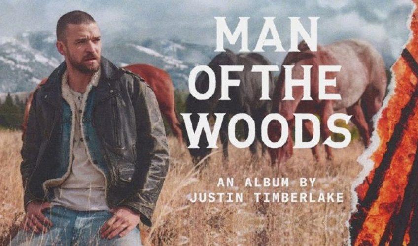 «Man Of The Woods»: Ακούστε το καινούριο άλμπουμ του Justin Timberlake