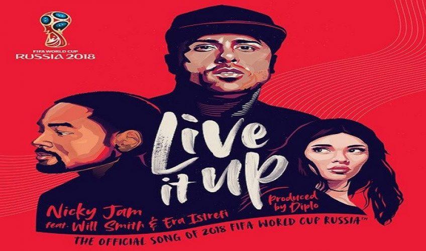 «Live It Up» : Ο Nicky Jam, o Will Smith και η Era Istrefi μαζί στο επίσημο τραγούδι του Μουντιάλ 2018.