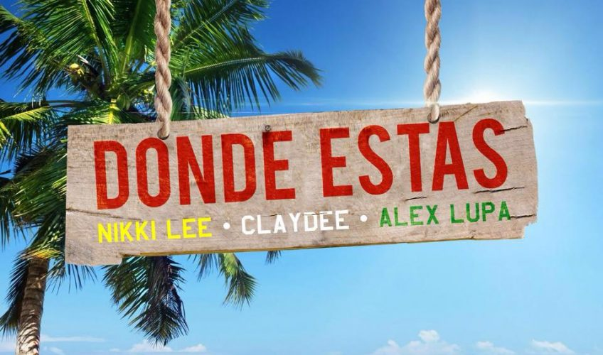 """Ο δημιουργός των απόλυτων #hits Claydee συνεργάζεται αυτή τη φορά με την Nikki Lee και τον Alex Lupa στο track """"Donde Estas""""."""
