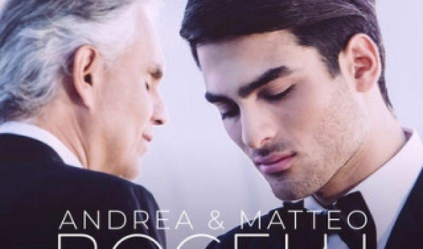 Πρόκειται για ένα εξαιρετικό ολοκαίνουργιο τραγούδι πατέρα και γιου, αφού ο 20χρονος Matteo Bocelli συνεργάζεται με τον Andrea Bocelli στο 'Fall On Me'.