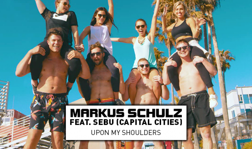 """Η ώθηση πίσω από το """"Upon My Shoulders"""" ήρθε στον Markus Schulz σε μια ανύποπτη στιγμή, λίγο μετά την εμφάνισή του στο Tomorrowland πριν σχεδόν ένα χρόνο."""