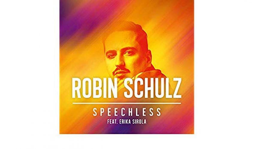 O πολυπλατινένιος Γερμανός παραγωγός Robin Schulz επιστρέφει με το νέο του single Speechless.