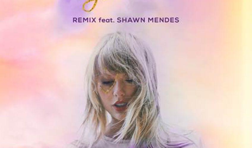 Η pop star Taylor Swift κυκλοφορεί μια νέα εκδοχή του hit single της 'Lover', μαζί με τον δημοφιλή Shawn Mendes.