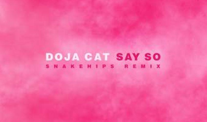 """Σε παγκόσμιο hit έχει εξελιχθεί το pop anthem """"Say So"""", της Doja Cat."""