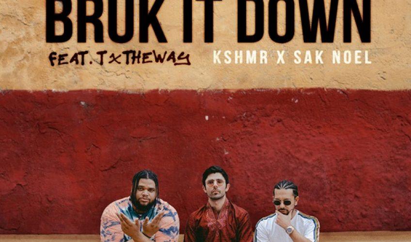 """Ο KSHMR μόλις κυκλοφόρησε το νέο του single """"Bruk It Down"""", σε συνεργασία με τον Ισπανό παραγωγό, Sak Noel. Στα φωνητικά ο Τζαμαϊκανός τραγουδιστής TxTHEWAY."""