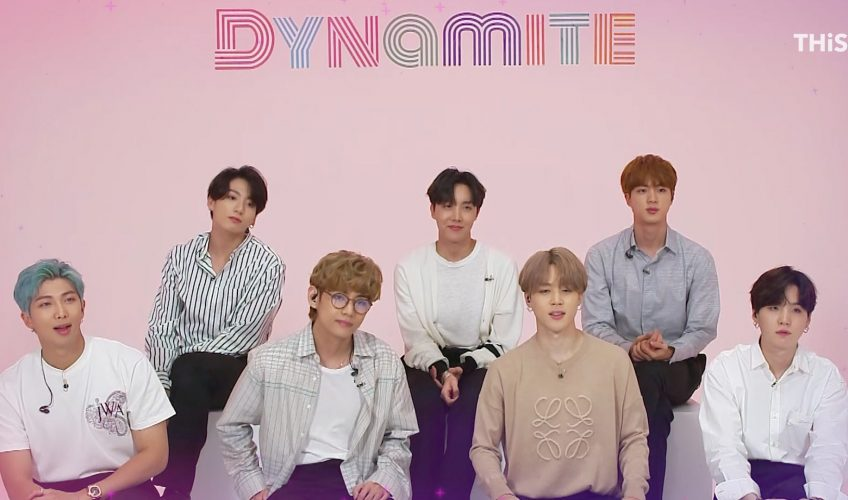 """Οι BTS κυκλοφορούν το πολυαναμενόμενο single """"Dynamite"""" με το οποίο φιλοδοξούν να προσφέρουν μία φωτεινή αχτίδα αισιοδοξίας σε μία δύσκολη περίοδο για τον κόσμο."""